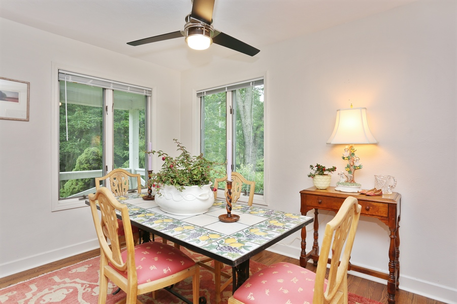 Real Estate Photography - 8975 W Warren Woods Road, Lakeside, MI, 49116 - Dining Room