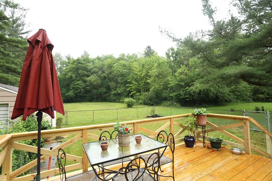 Real Estate Photography - 8975 W Warren Woods Road, Lakeside, MI, 49116 - Deck