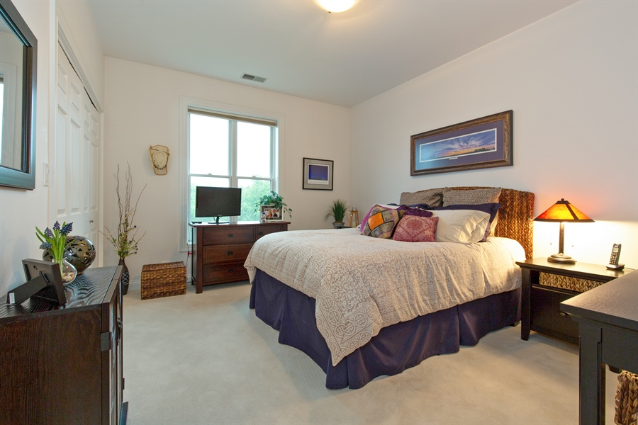 Real Estate Photography - 1654 N. Mohawk, 3, Chicago, IL, 60614 - 2nd Bedroom