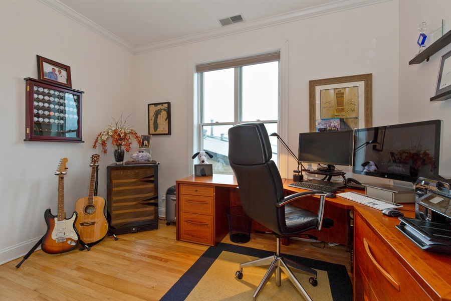 Real Estate Photography - 1654 N. Mohawk, 3, Chicago, IL, 60614 - 3rd Bedroom