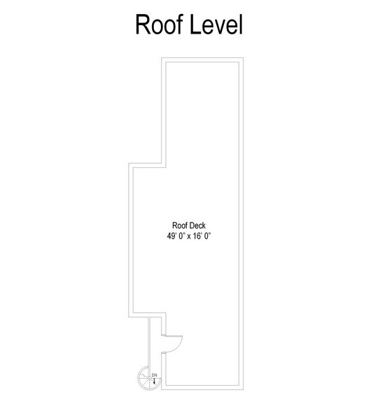 Real Estate Photography - 1654 N. Mohawk, 3, Chicago, IL, 60614 - Floor Plan