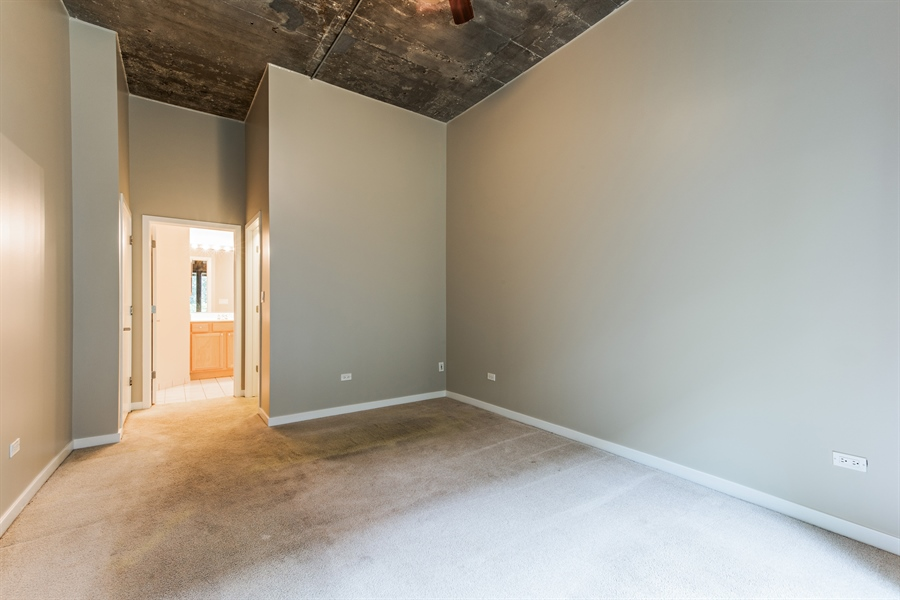 Real Estate Photography - 1151 W 14th, 102, Chicago, IL, 60608 - Master Bedroom