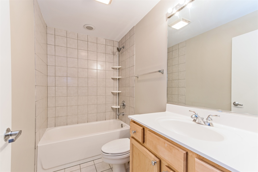 Real Estate Photography - 1151 W 14th, 102, Chicago, IL, 60608 - Bathroom
