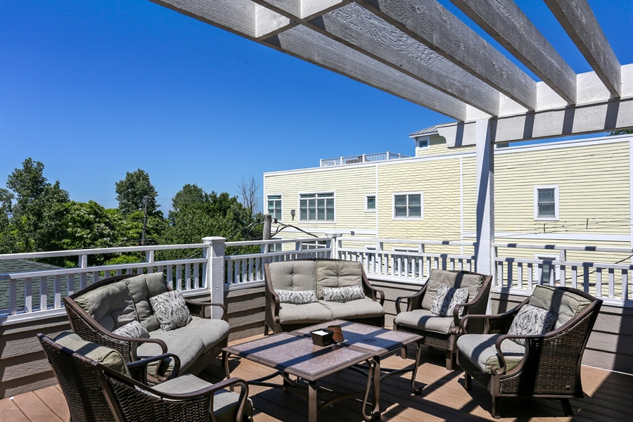 Real Estate Photography - 116 N. Lake Ave, Michigan City, IN, 46360 - Roof Deck
