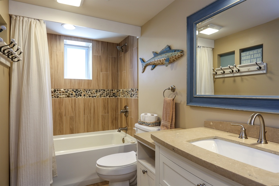 Real Estate Photography - 116 N. Lake Ave, Michigan City, IN, 46360 - Bathroom