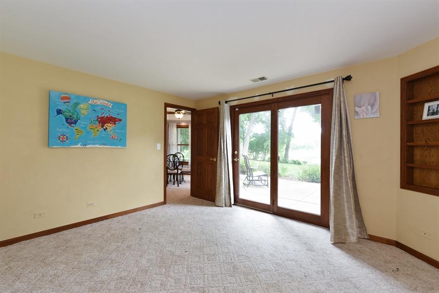 Real Estate Photography - 1587 Far Hills Dr, Bartlett, IL, 60103 - Lower Level 5th Bedroom/Bonus Space
