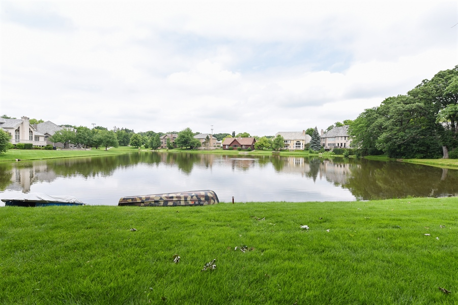 Real Estate Photography - 1587 Far Hills Dr, Bartlett, IL, 60103 - Lake View