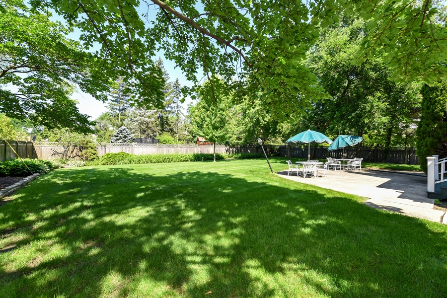 Real Estate Photography - 730 S. Garfield, Hinsdale, IL, 60521 - Back Yard