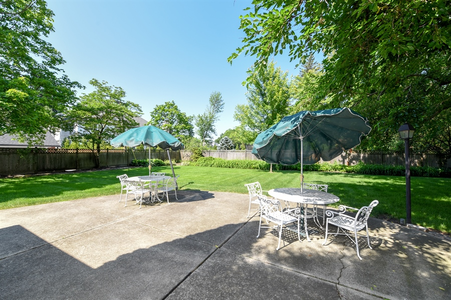 Real Estate Photography - 730 S. Garfield, Hinsdale, IL, 60521 - Patio
