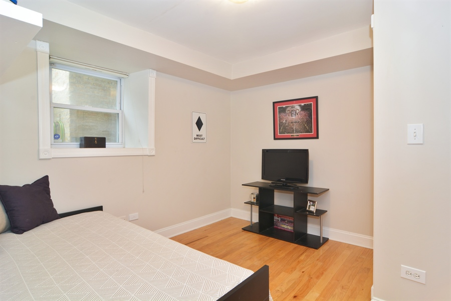 Real Estate Photography - 1532 N Paulina, Unit L, Chicago, IL, 60622 - 2nd Bedroom