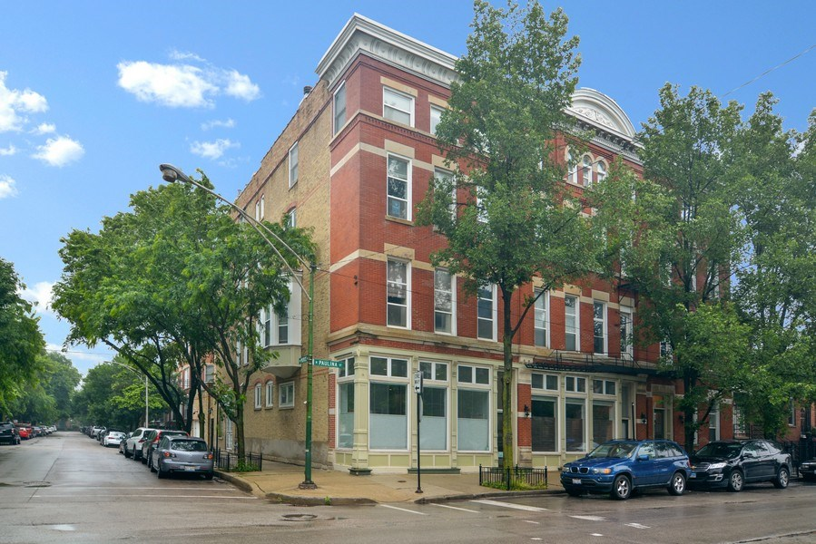 Real Estate Photography - 1532 N Paulina, Unit L, Chicago, IL, 60622 - Front View