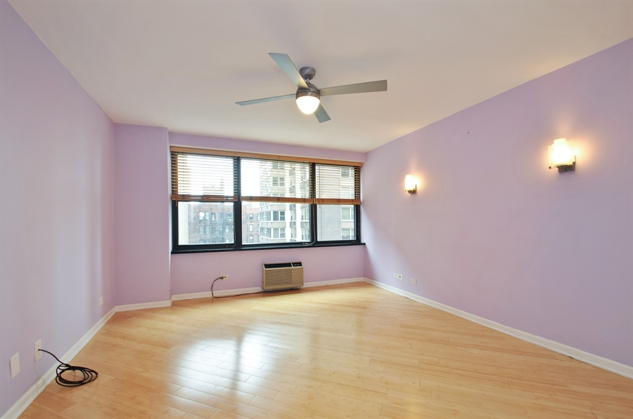 Real Estate Photography - 850 N Dewitt Pl, apt 13GI, Chicago, IL, 60611 - 3rd Bedroom