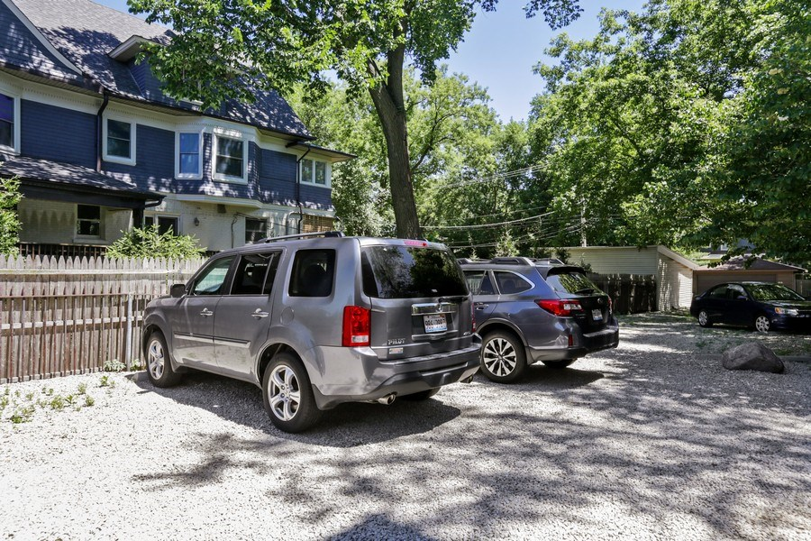 Real Estate Photography - 1003 Hinman, Evanston, IL, 60202 - Parking Area