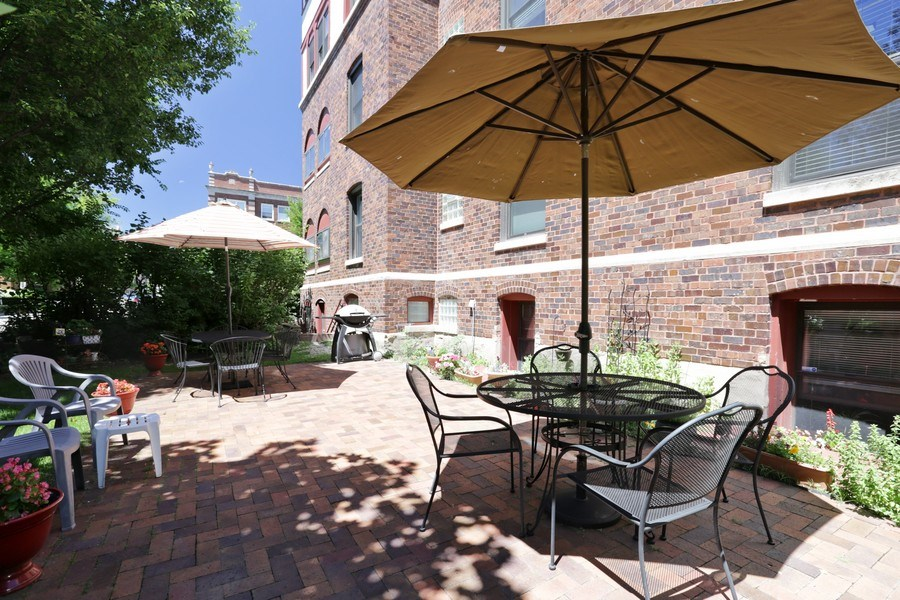 Real Estate Photography - 1003 Hinman, Evanston, IL, 60202 - Patio