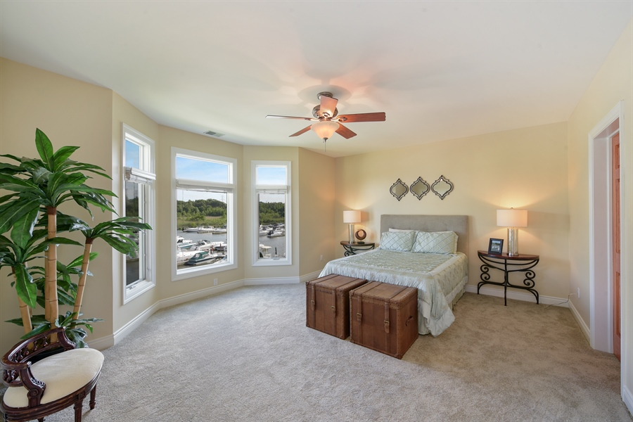 Real Estate Photography - 6089 S Dune Harbor Dr, Portage, IN, 46368 - Master Bedroom