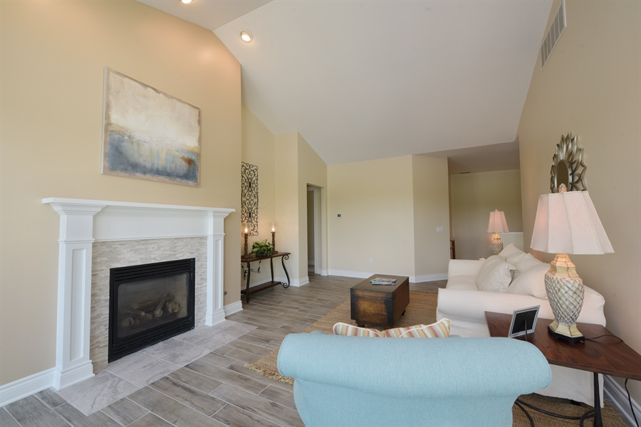 Real Estate Photography - 6089 S Dune Harbor Dr, Portage, IN, 46368 - Living Room