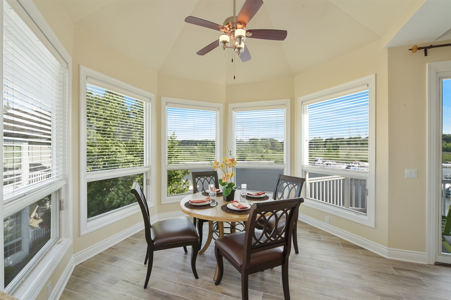 Real Estate Photography - 6089 S Dune Harbor Dr, Portage, IN, 46368 - Dining Room