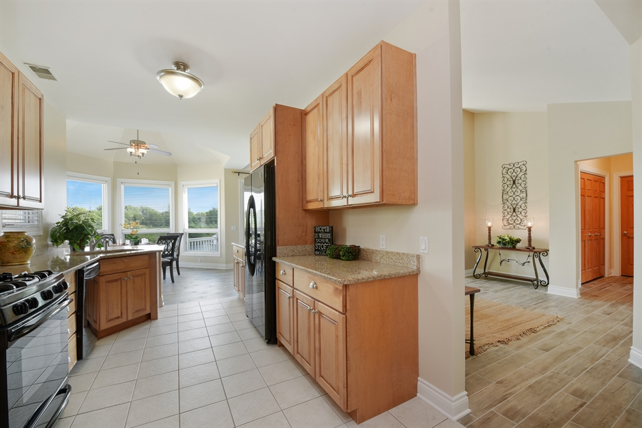 Real Estate Photography - 6089 S Dune Harbor Dr, Portage, IN, 46368 - Kitchen / Living Room