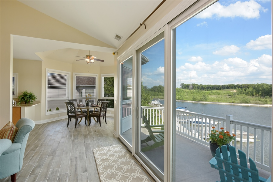 Real Estate Photography - 6089 S Dune Harbor Dr, Portage, IN, 46368 - Balcony