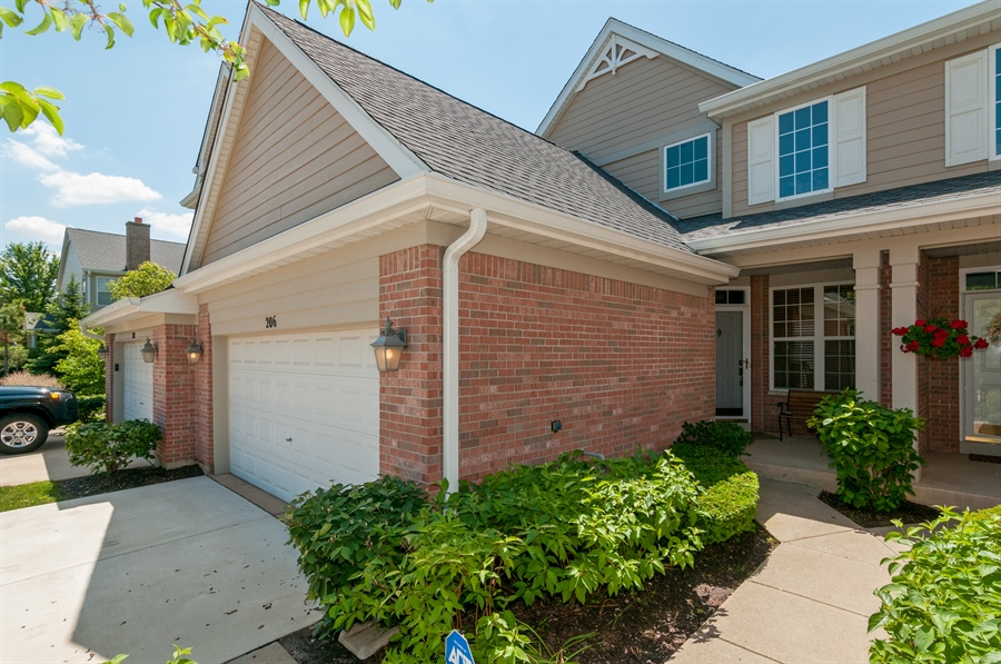 Real Estate Photography - 206 Westminster, Bloomingdale, IL, 60108 - Front View