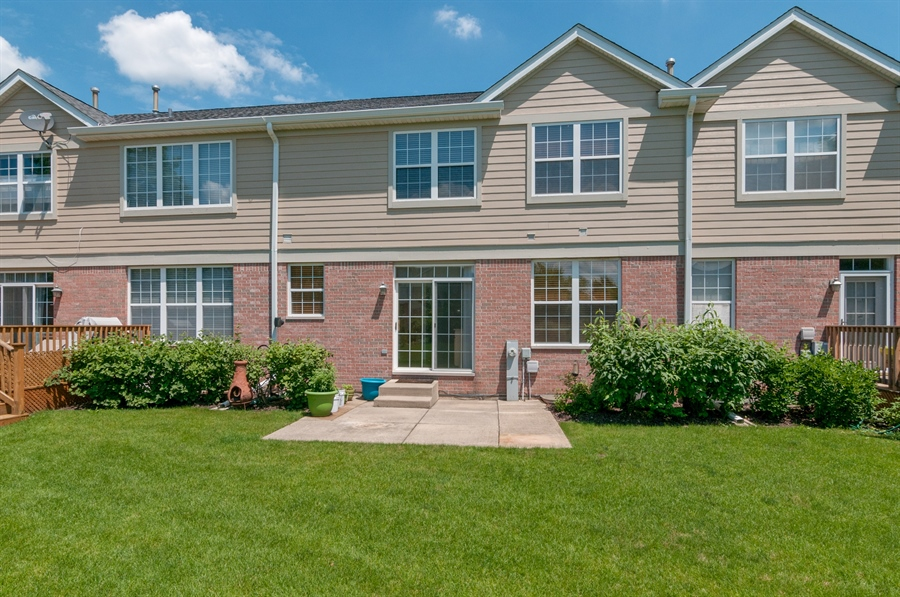 Real Estate Photography - 206 Westminster, Bloomingdale, IL, 60108 - Rear View