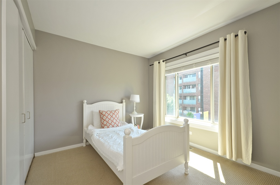 Real Estate Photography - 1835 N Halsted, unit 4, Chicago, IL, 60614 - 2nd Bedroom