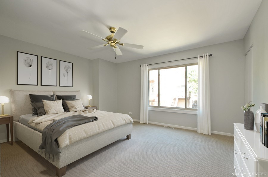 Real Estate Photography - 1835 N Halsted, unit 4, Chicago, IL, 60614 - Master Bedroom