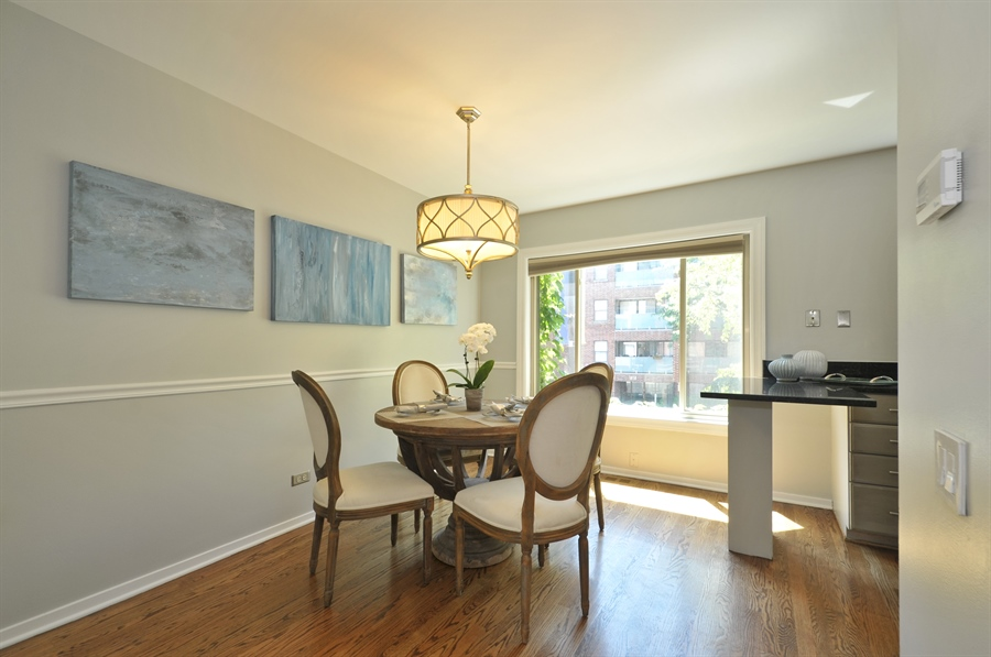 Real Estate Photography - 1835 N Halsted, unit 4, Chicago, IL, 60614 - Dining Room