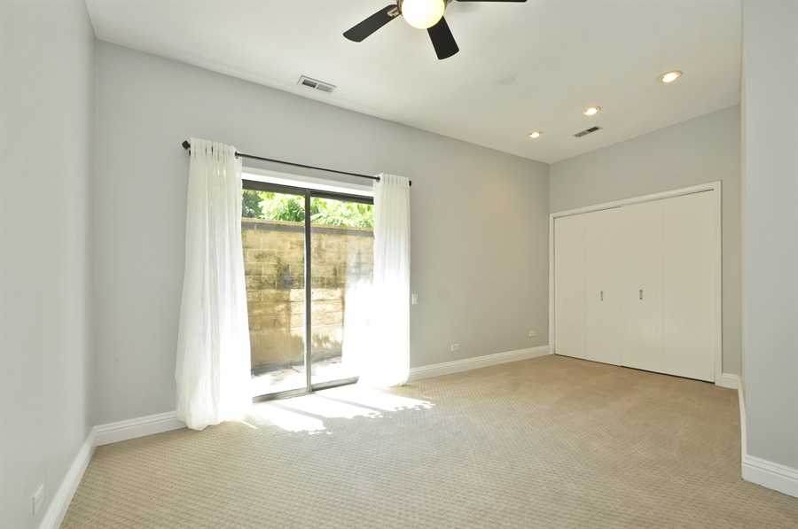 Real Estate Photography - 1835 N Halsted, unit 4, Chicago, IL, 60614 - 3rd Bedroom