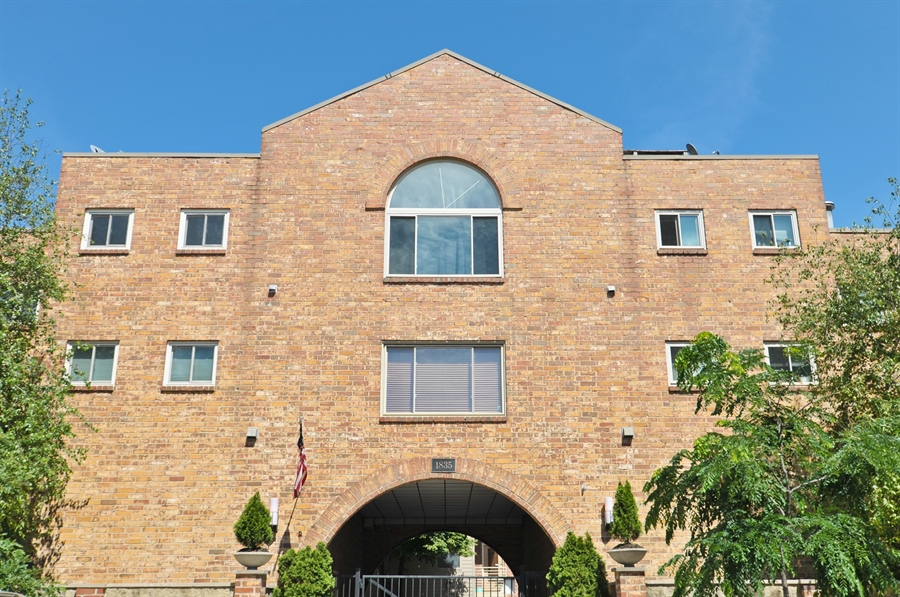 Real Estate Photography - 1835 N Halsted, unit 4, Chicago, IL, 60614 - Front View
