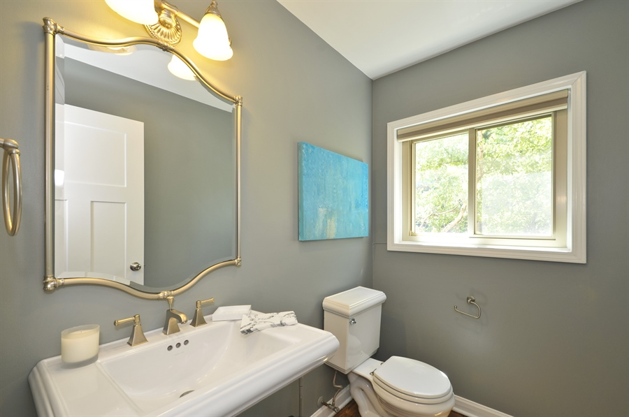 Real Estate Photography - 1835 N Halsted, unit 4, Chicago, IL, 60614 - Half Bath