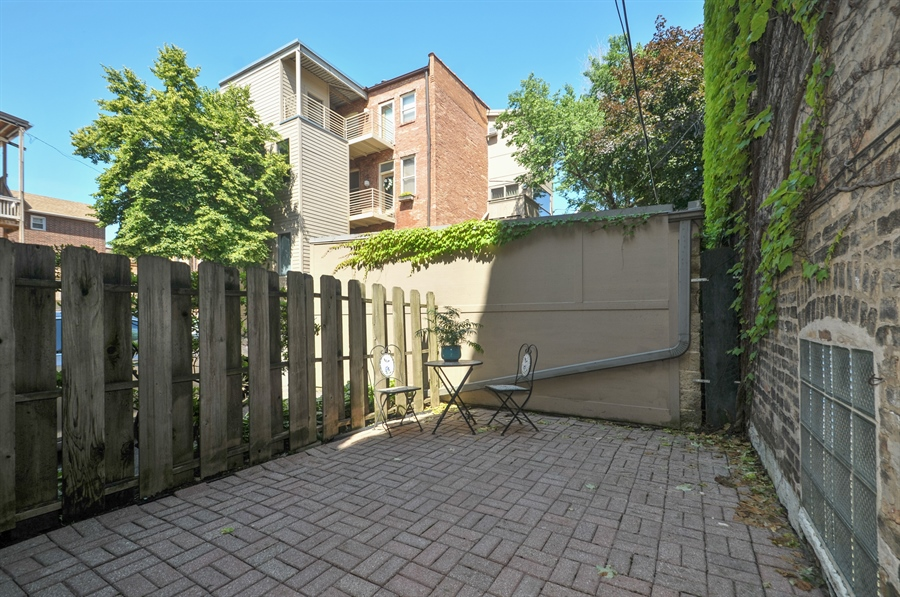 Real Estate Photography - 1835 N Halsted, unit 4, Chicago, IL, 60614 - Patio