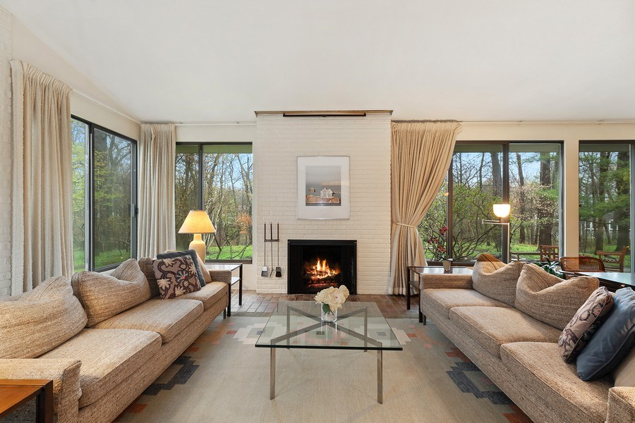 Real Estate Photography - 349 Woodland, Highland Park, IL, 60035 - Family Room