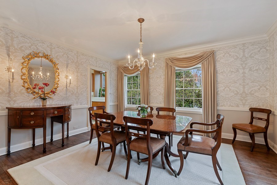 Real Estate Photography - 349 Woodland, Highland Park, IL, 60035 - Dining Room