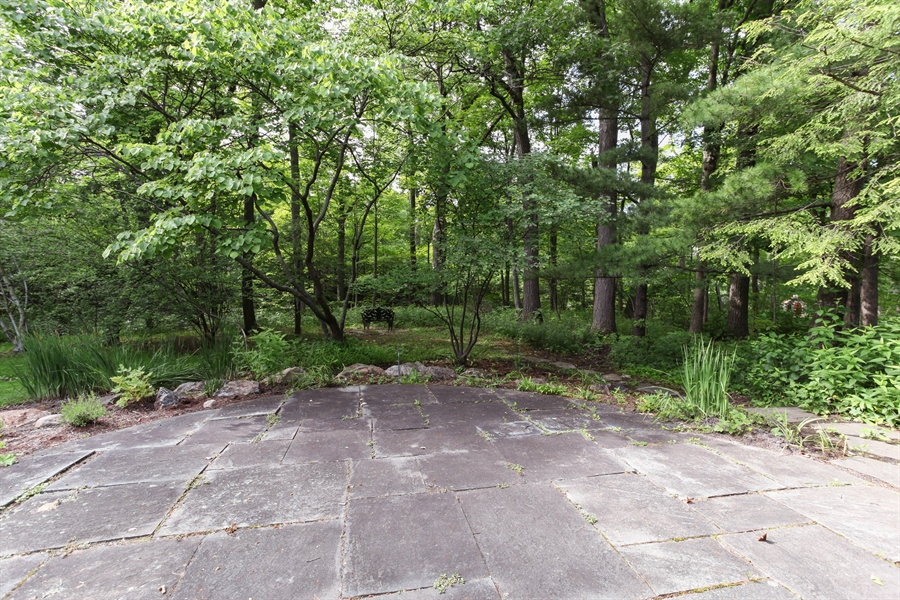 Real Estate Photography - 349 Woodland, Highland Park, IL, 60035 - Patio/back yard