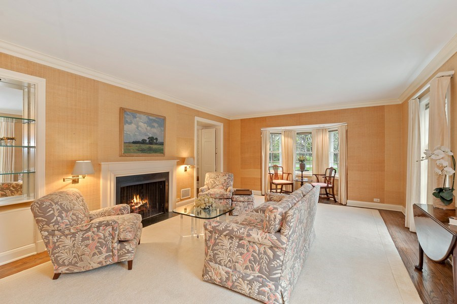 Real Estate Photography - 349 Woodland, Highland Park, IL, 60035 - Living Room