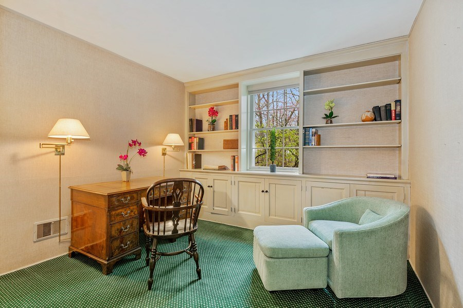 Real Estate Photography - 349 Woodland, Highland Park, IL, 60035 - Office