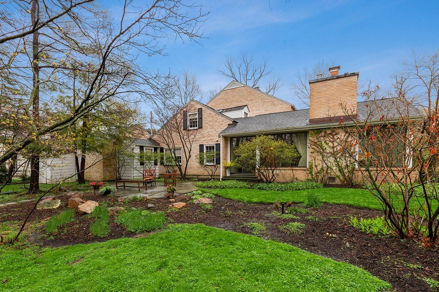 Real Estate Photography - 349 Woodland, Highland Park, IL, 60035 - Rear View