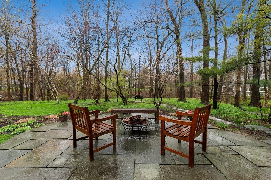 Real Estate Photography - 349 Woodland, Highland Park, IL, 60035 - Patio