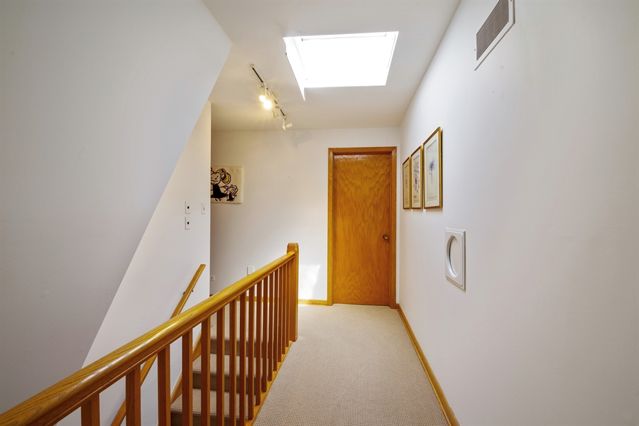 Real Estate Photography - 214 17th St, Wilmette, IL, 60091 - Second Floor Hallway/Staircase