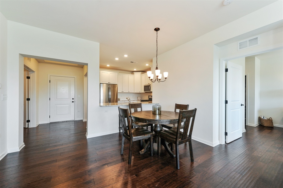 Real Estate Photography - 2701 Common Dr., 207, Glenview, IL, 60026 - Dining Room