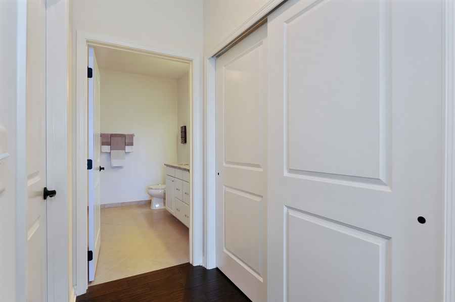 Real Estate Photography - 2701 Common Dr., 207, Glenview, IL, 60026 - Master Bedroom Closet