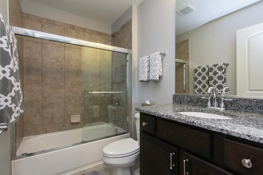 Real Estate Photography - 23585 N. Sanctuary Club Drive, Kildeer, IL, 60047 - 3rd Bathroom