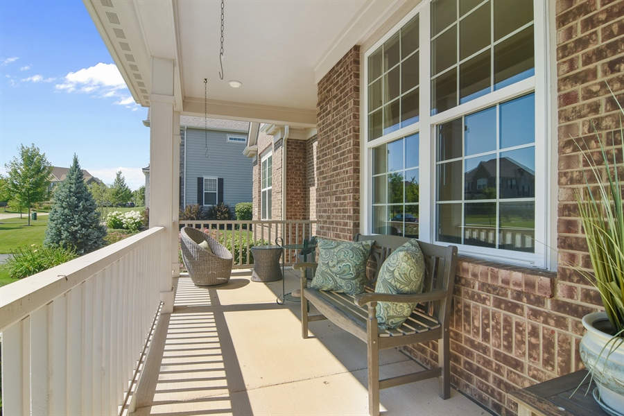 Real Estate Photography - 23585 N. Sanctuary Club Drive, Kildeer, IL, 60047 - Porch