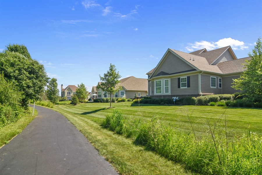 Real Estate Photography - 23585 N. Sanctuary Club Drive, Kildeer, IL, 60047 - Rear View