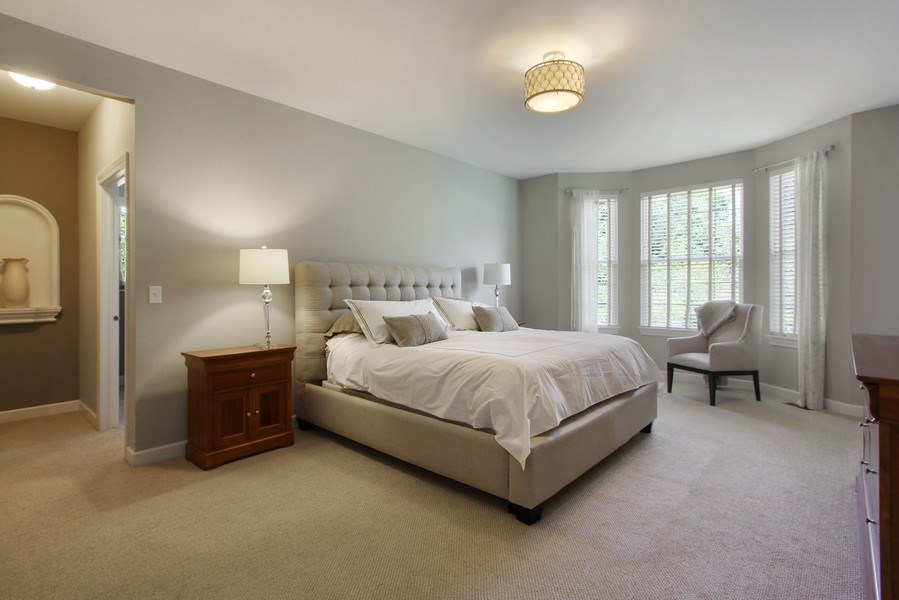 Real Estate Photography - 23585 N. Sanctuary Club Drive, Kildeer, IL, 60047 - Master Bedroom