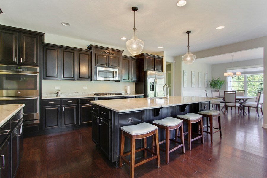 Real Estate Photography - 23585 N. Sanctuary Club Drive, Kildeer, IL, 60047 - Kitchen