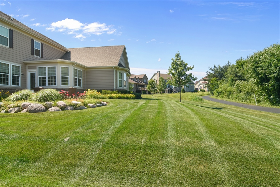 Real Estate Photography - 23585 N. Sanctuary Club Drive, Kildeer, IL, 60047 - Back Yard