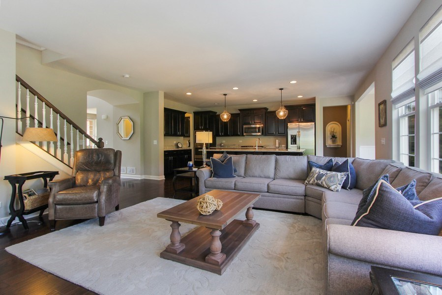 Real Estate Photography - 23585 N. Sanctuary Club Drive, Kildeer, IL, 60047 - Family Room