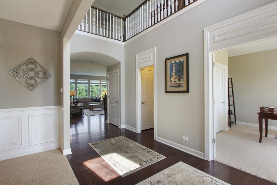Real Estate Photography - 23585 N. Sanctuary Club Drive, Kildeer, IL, 60047 - Foyer